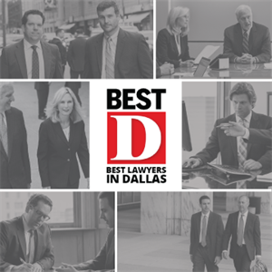 Seven Sayles Werbner Attorneys Named Among Dallas' Best