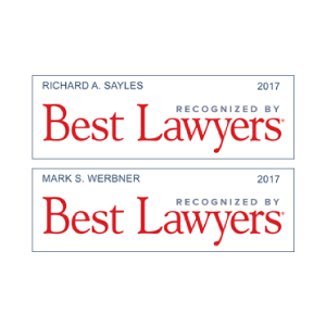 Sayles Werbner Attorneys Earn Spots in 2017 Best Lawyers in America